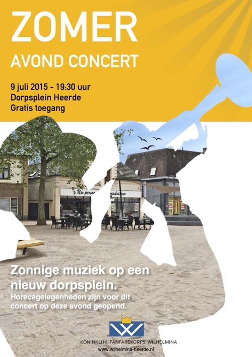 Zomeravond concert Heerde Dorpsplein