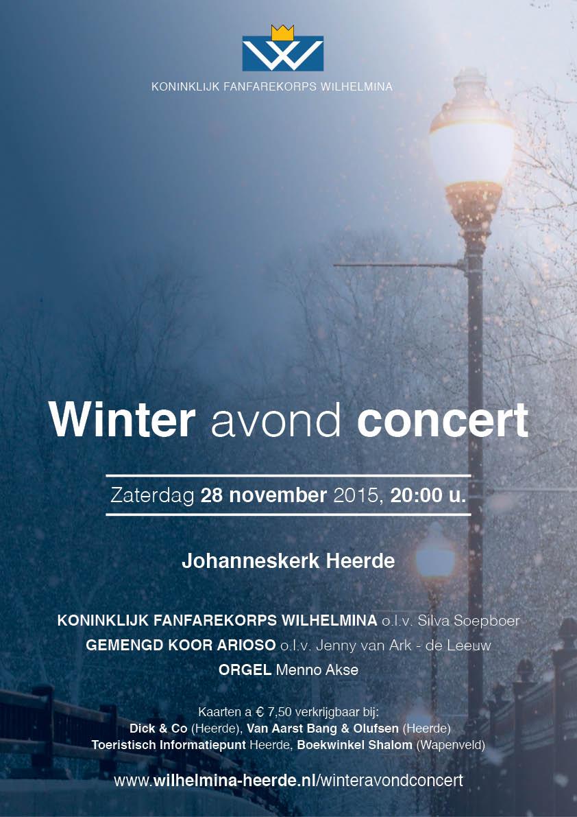 Winter avond concert Heerde